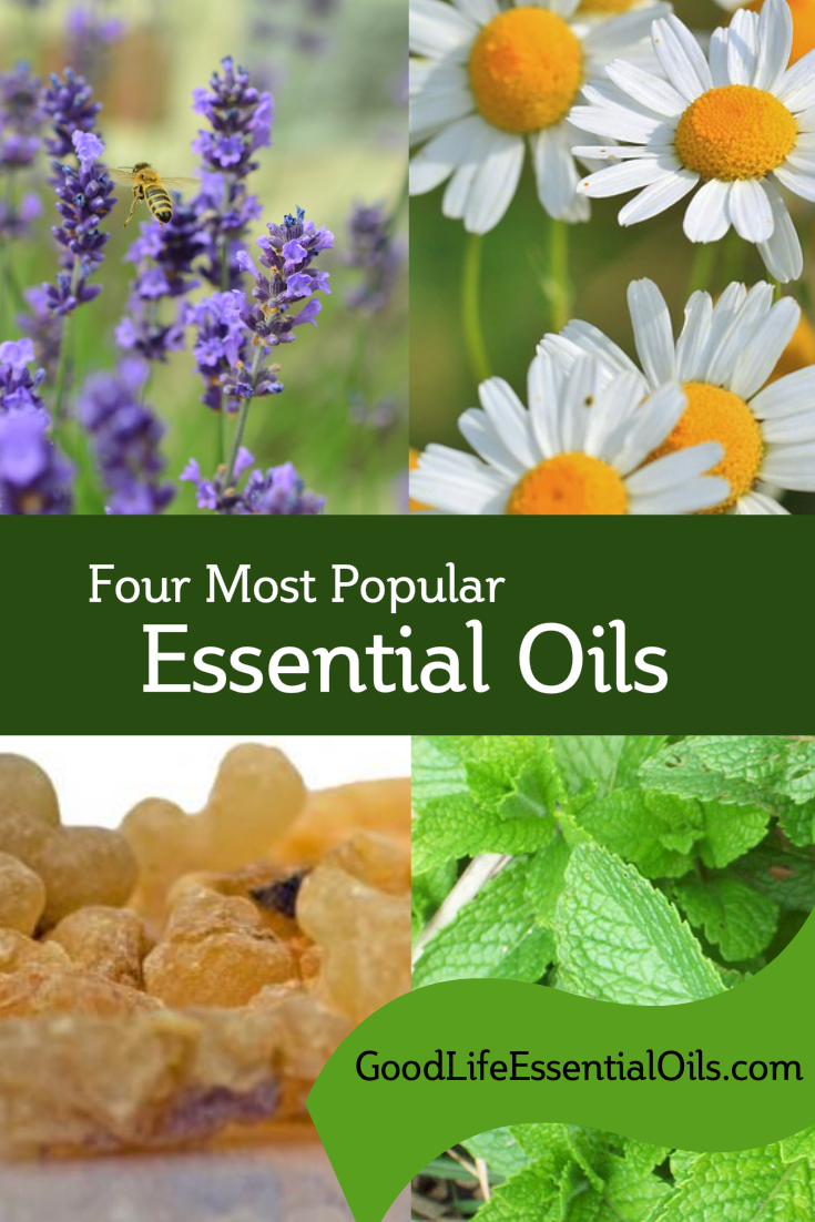 4 Most Popular Essential Oils