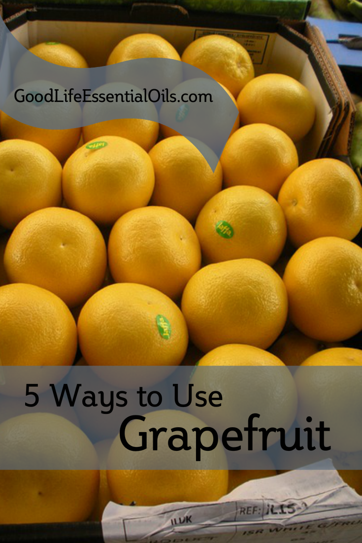5 Ways To Use Grapefruit Essential Oil