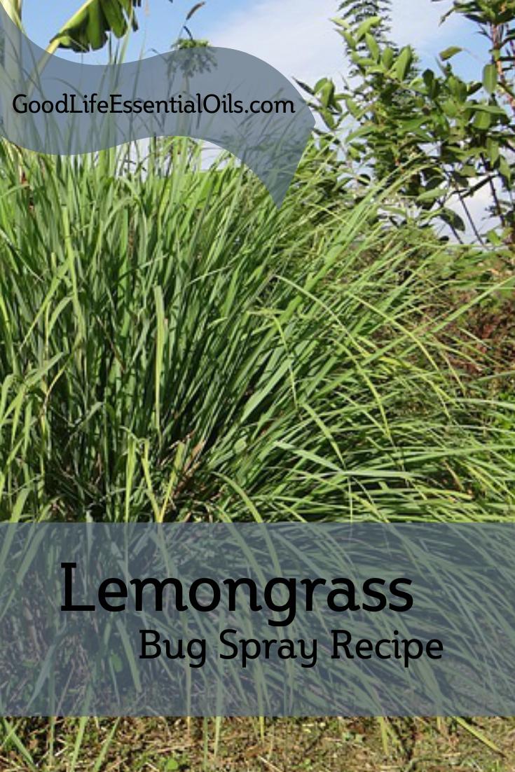 Lemongrass Bug Spray Recipe
