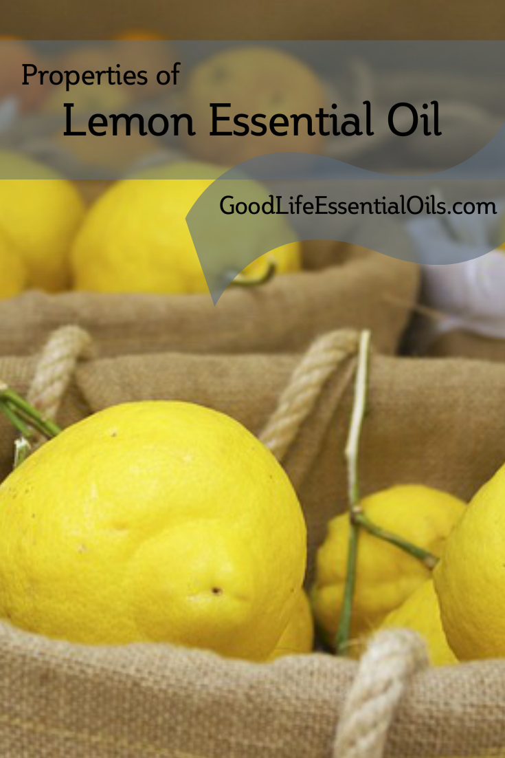 Properties Of Lemon Essential Oil